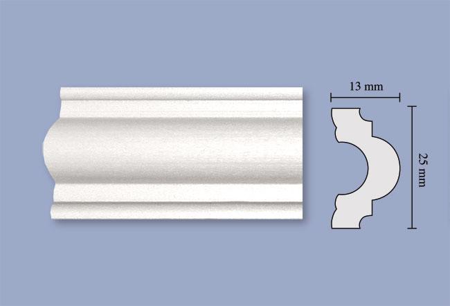 Cornici soffitto poliuretano design per la casa idee for Cornici per strisce led